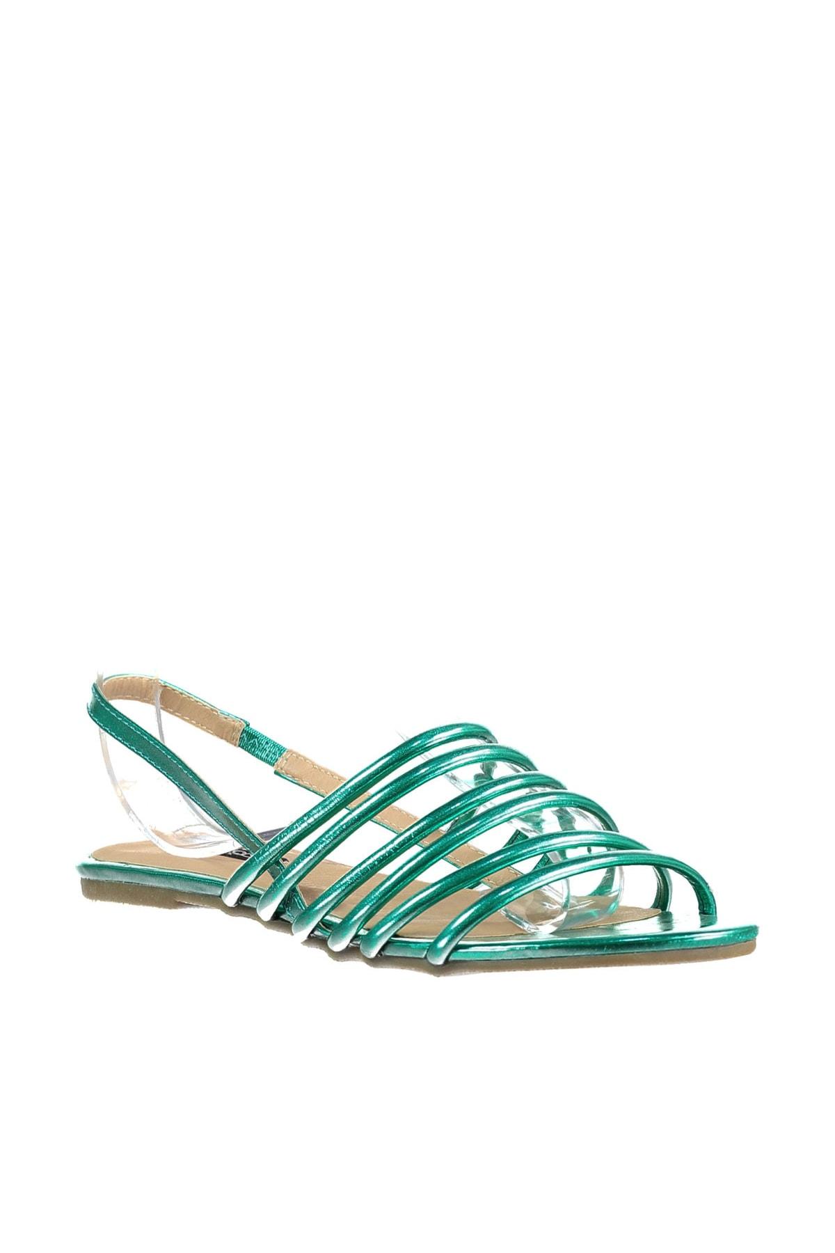 İnci Yeşil Kadın Sandalet 120116012610 1