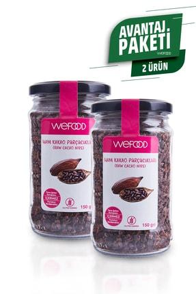 Wefood Organik Ham Kakao Parçacıkları 150 gr 2'li