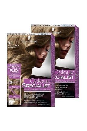 Colour Specialist 8+-1 Küllü Açık Kumral x 2 Adet