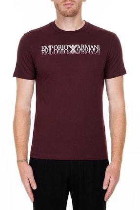 Emporio Armani Bordo Erkek T-Shirt 6G1TC3 1J00Z 0348