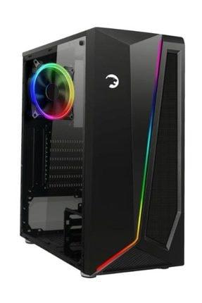 GamePower Dark Side Pencereli RGB Fanlı-Modlu Gaming Oyuncu Bilgisayar Kasası PSU Yok