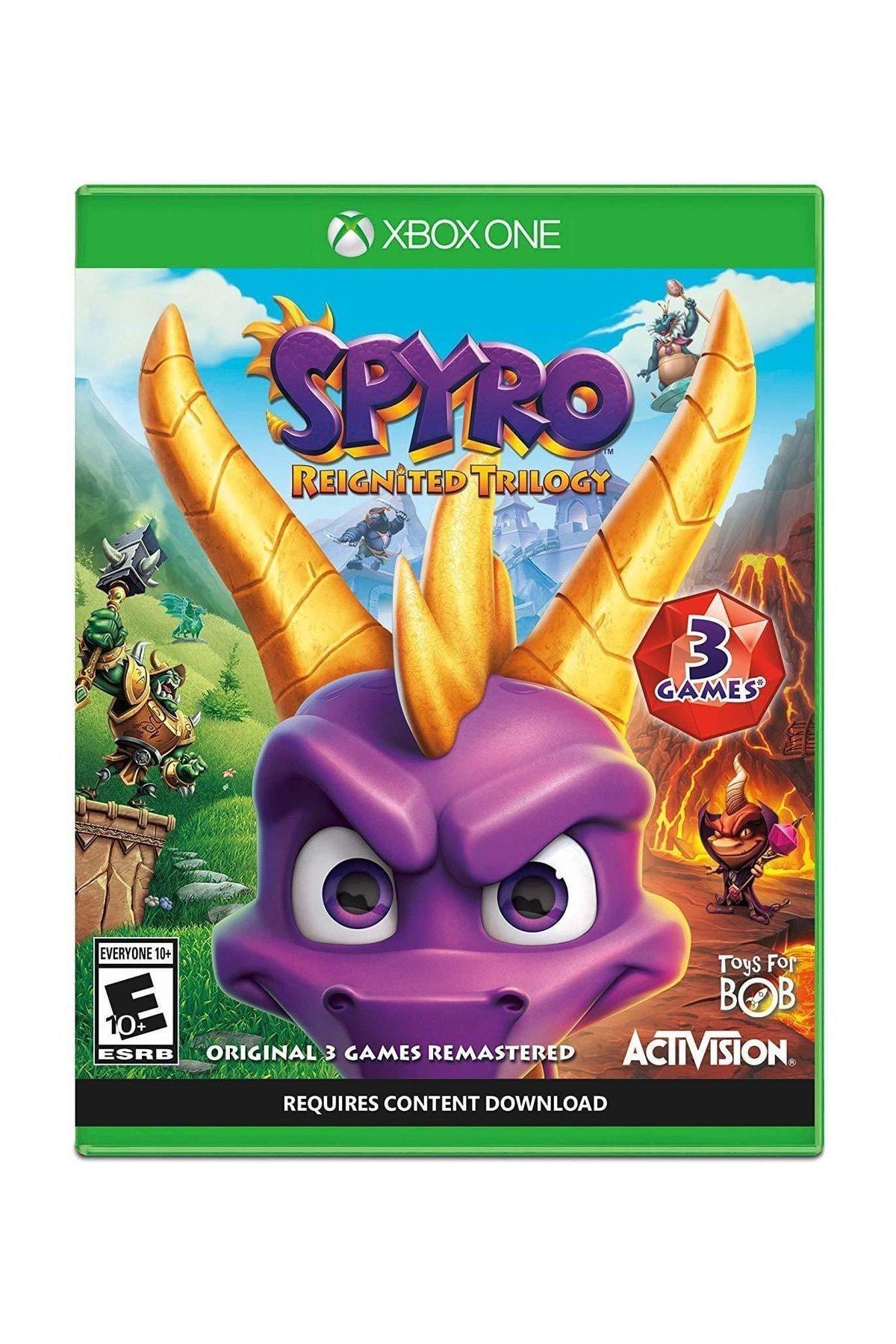ACTIVISION Spyro Trilogy Reignited Xbox One Oyun 1