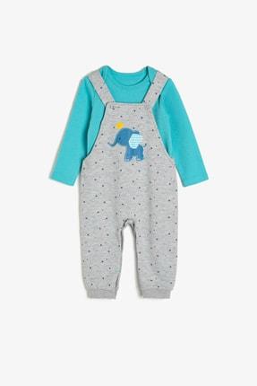 Koton Mavi Bebek Bebek Body & Zıbın
