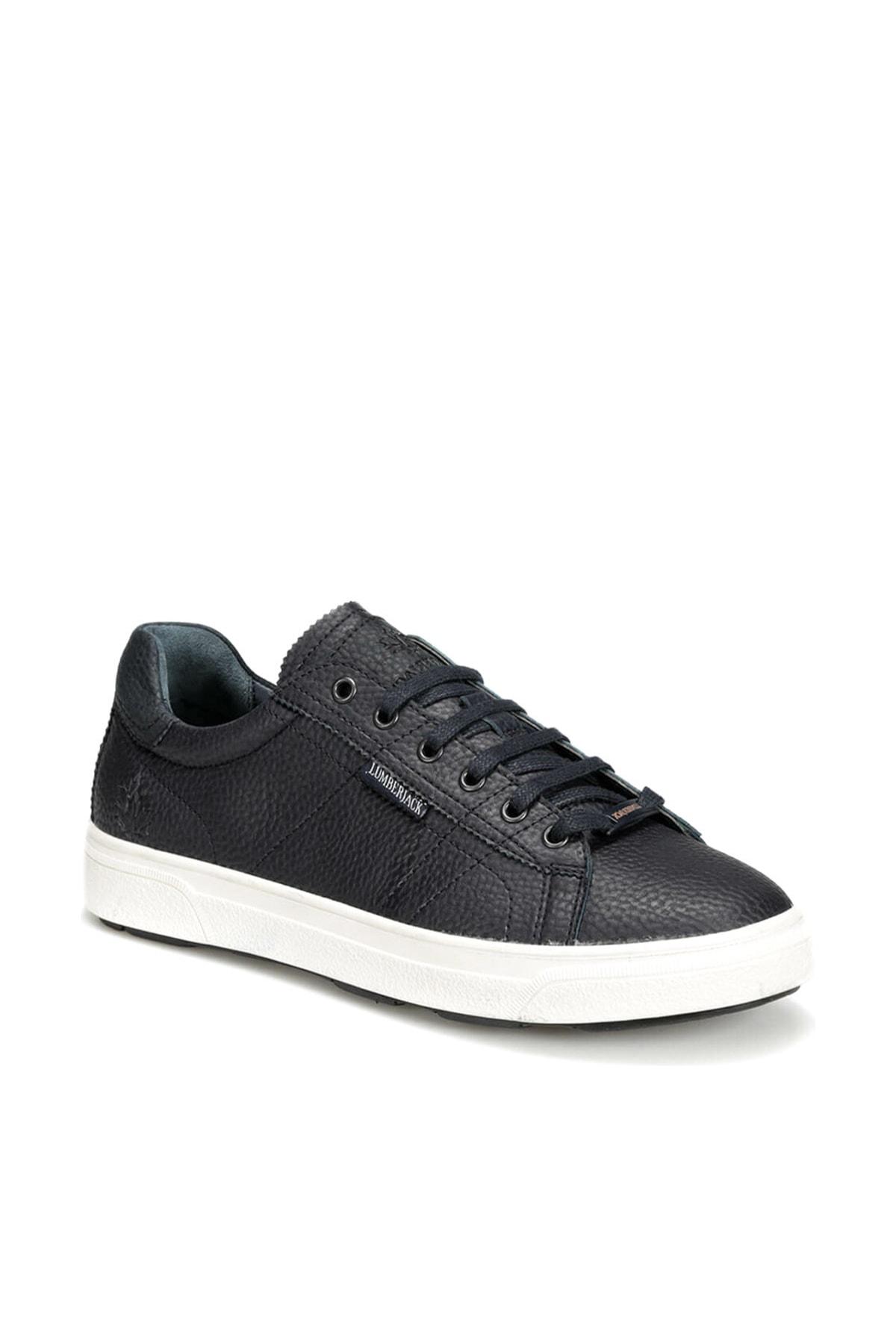 lumberjack BUSIA 9PR Lacivert Erkek Kalın Taban Sneaker Spor Ayakkabı 100416625 1