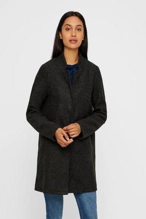 Vero Moda Kadın Gri Ceket Vmbrushed Katrıne  3/4 Jacket 10198835