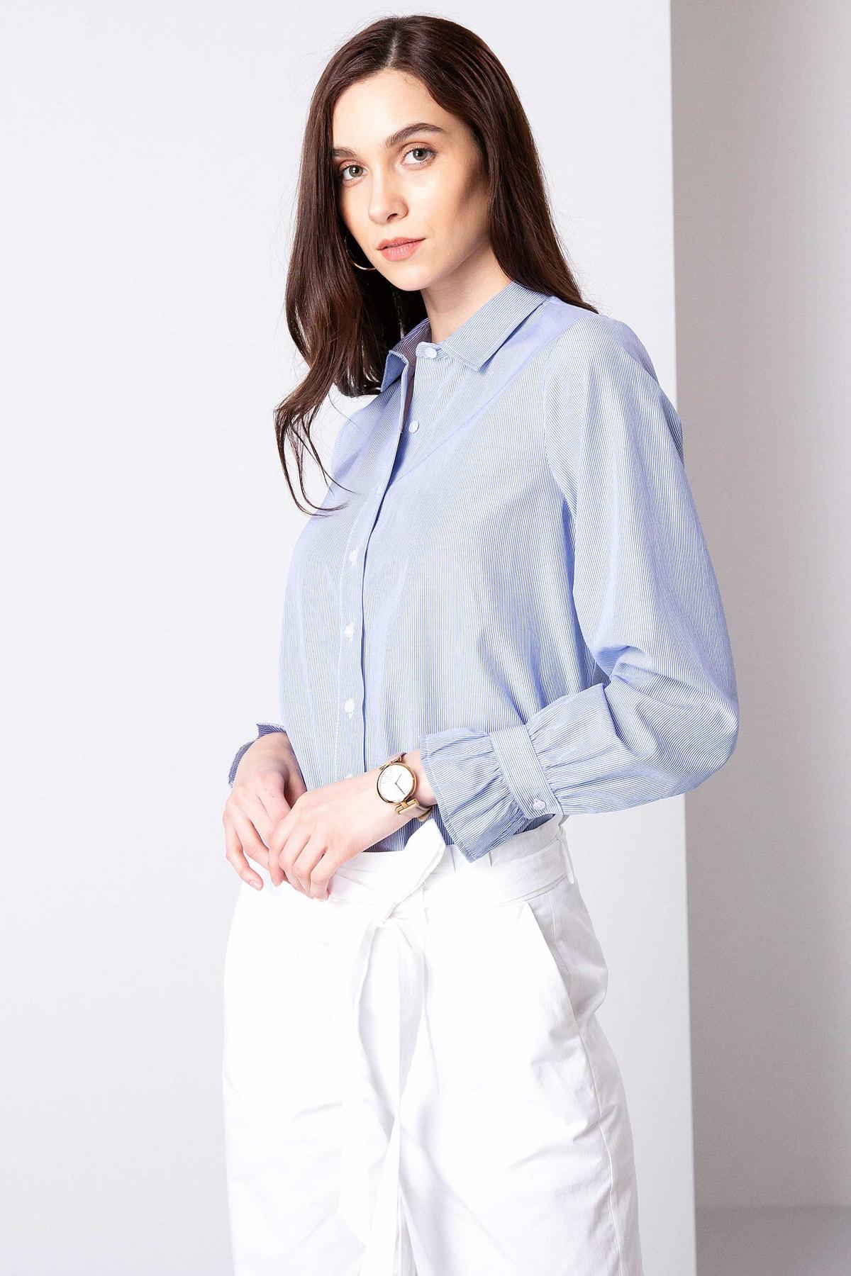 Pierre Cardin Kadın Gömlek G022SZ004.000.770786 2