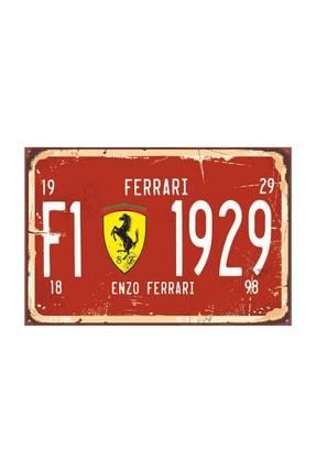 Hayat Poster Formula 1 Tabela Tarz Retro Vintage Ahşap Poster 2030043