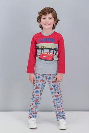 CARS Lisanslı Kırmızı Erkek Çocuk Pijama Takımı