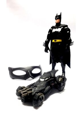 MRÇ Batman Karakter, Bat Mobil Araba, Batman Maske