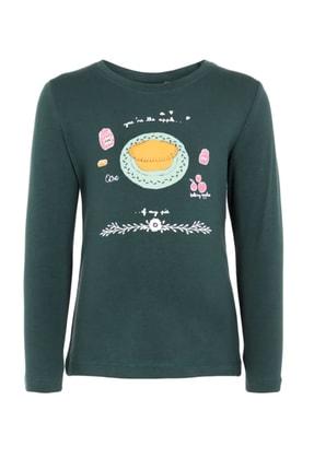 name ıt Yeşil Kız Çocuk T-Shirt