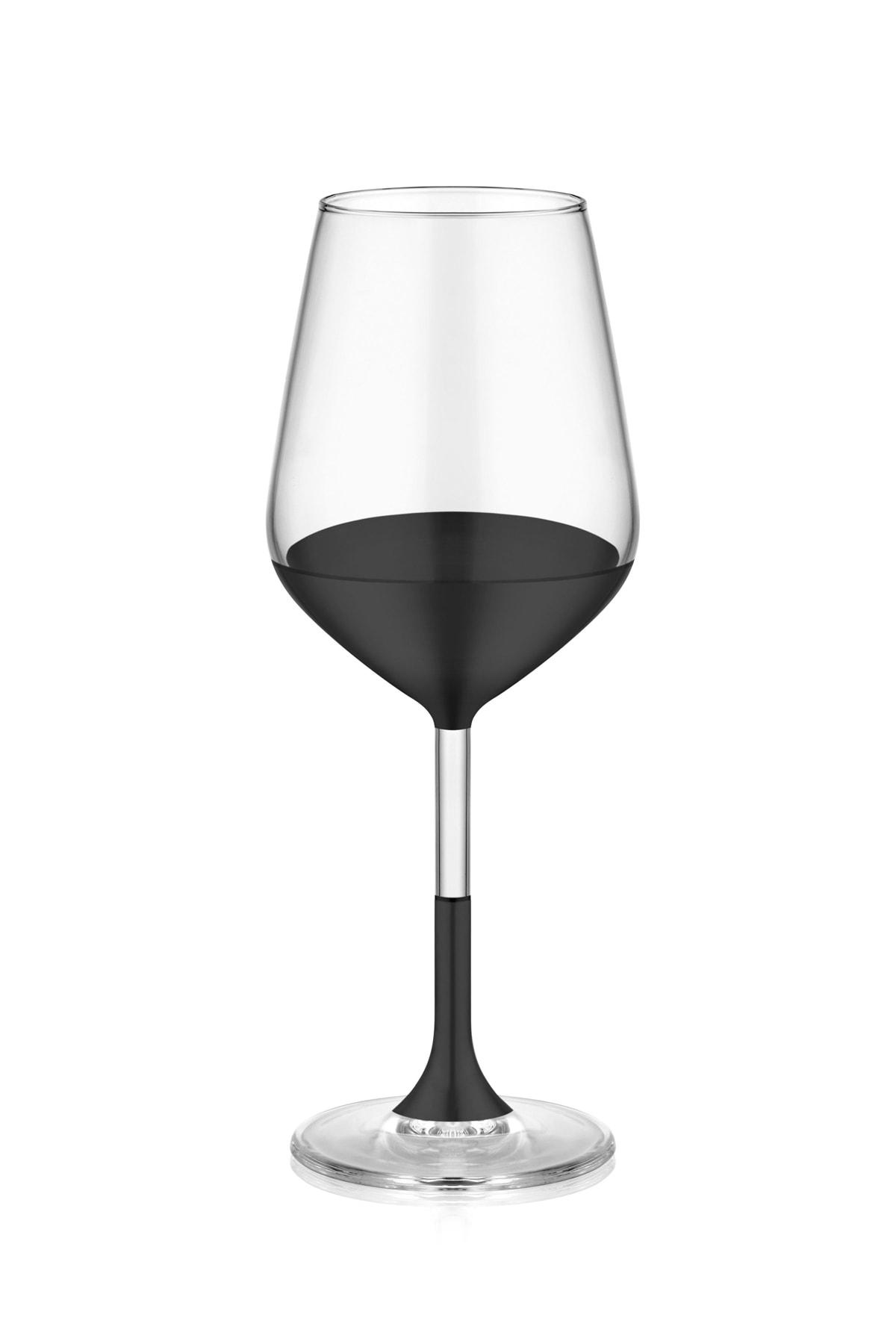 The Mia Dark Şarap Kadehi 6'lı Set 2