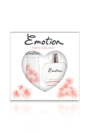 Emotion Fresh Bouqet Edt 50 ml ve  Deodorant Kadın Parfüm Seti 150 ml