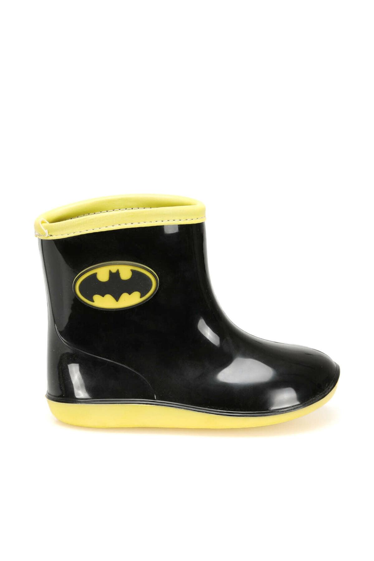 Batman 97246 Siyah Erkek Çocuk Yağmur Çizmesi 2