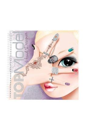 Top Model El Dizayn Boyama Kitabı
