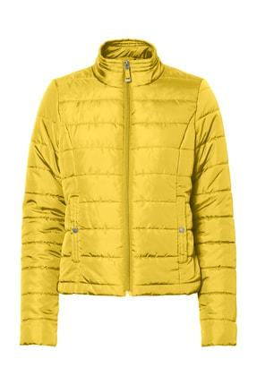 Vero Moda Kadın Sarı Şişme Mont 10214903 VMSIMONE 10214903