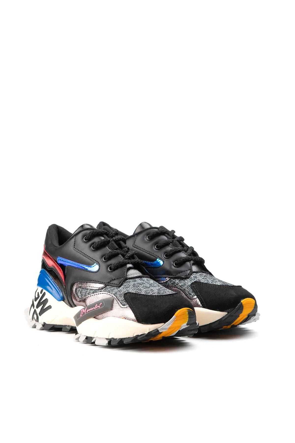 Jeep Siyah Kadın Spor Ayakkabı 9K2SAJ0140 2