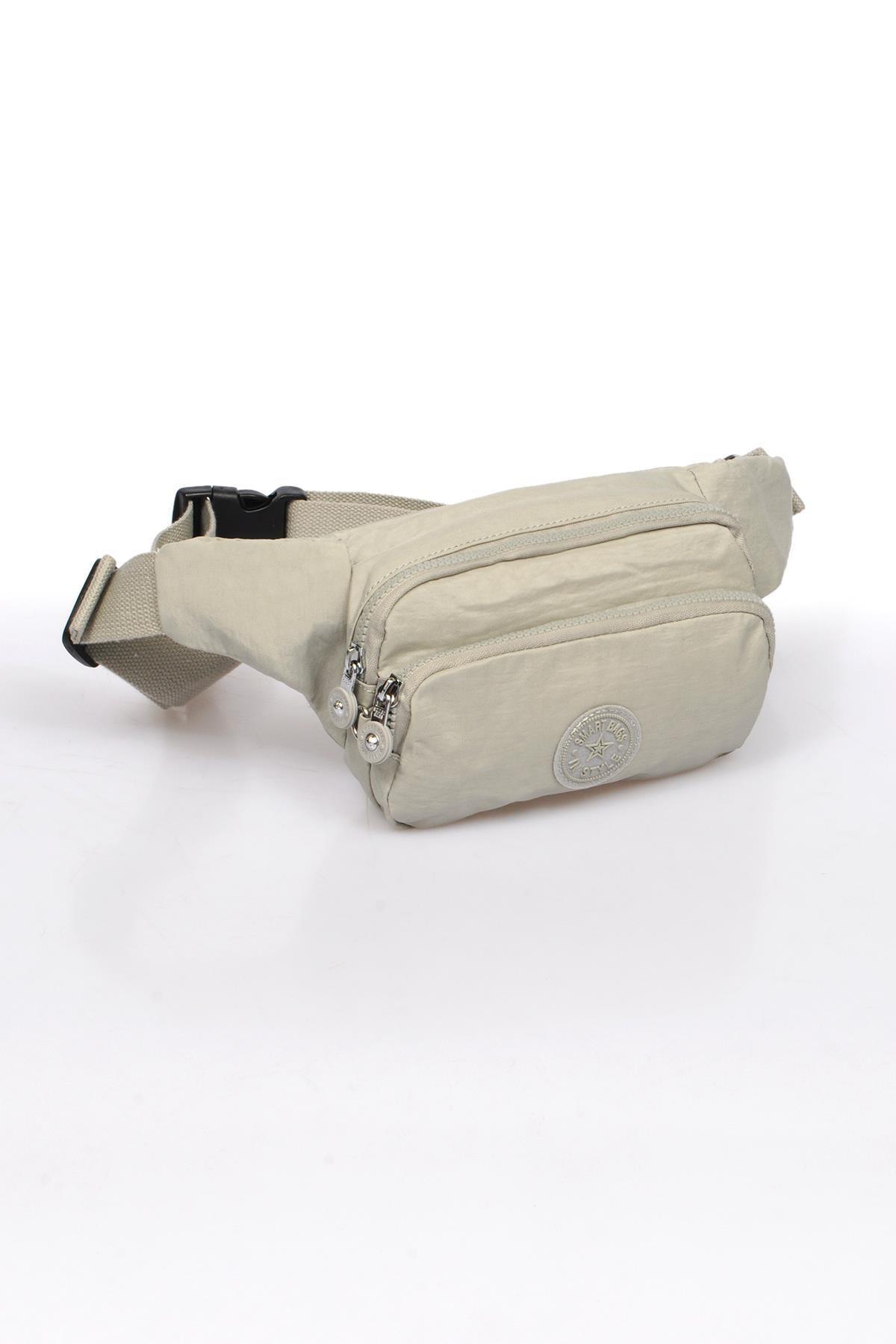 SMART BAGS Ice Gri Kadın   Bel Çantası Smb1154