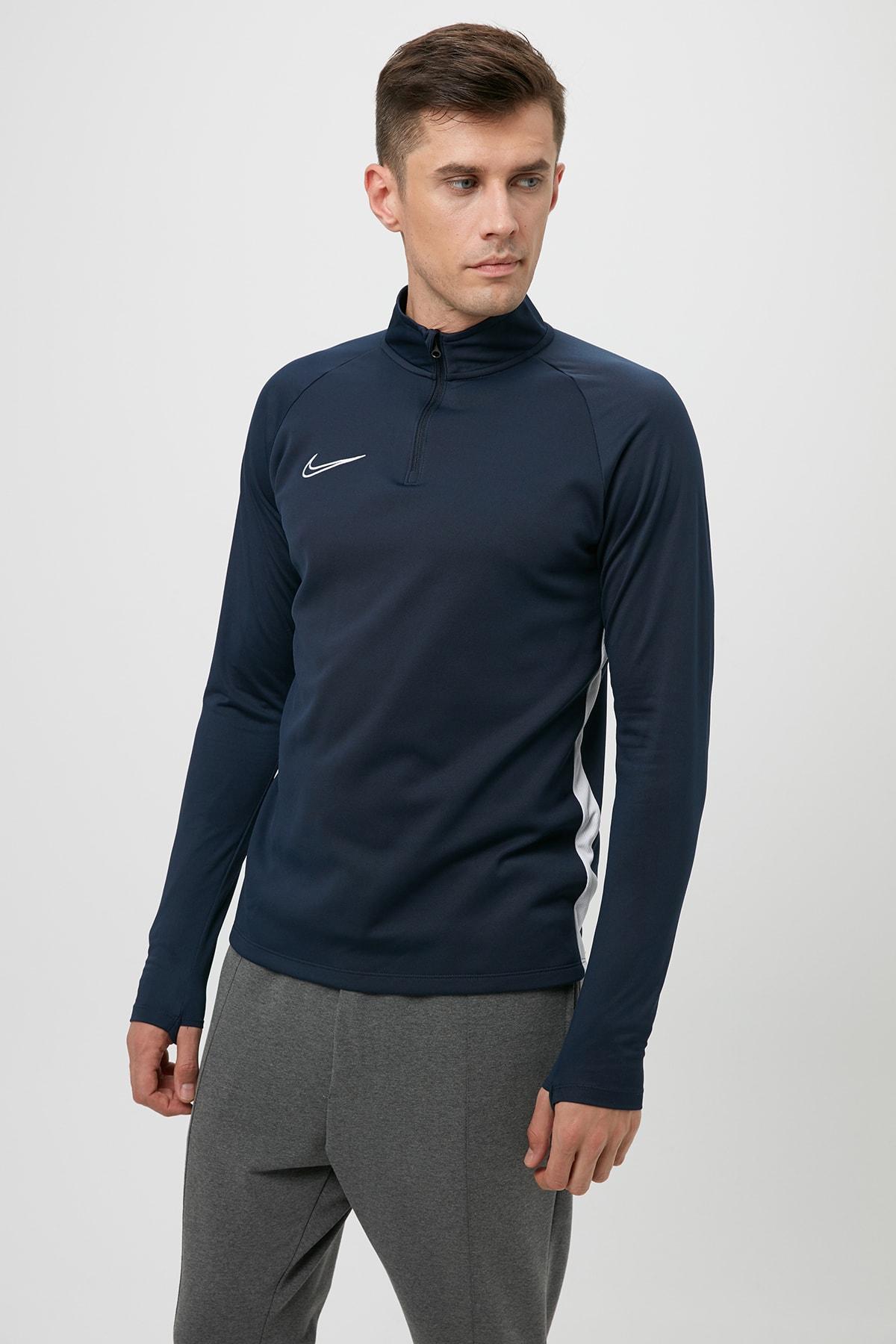 Nike AJ9094-451 M NK DRY ACDMY19 DRIL TOP Erkek T-Shirt 2