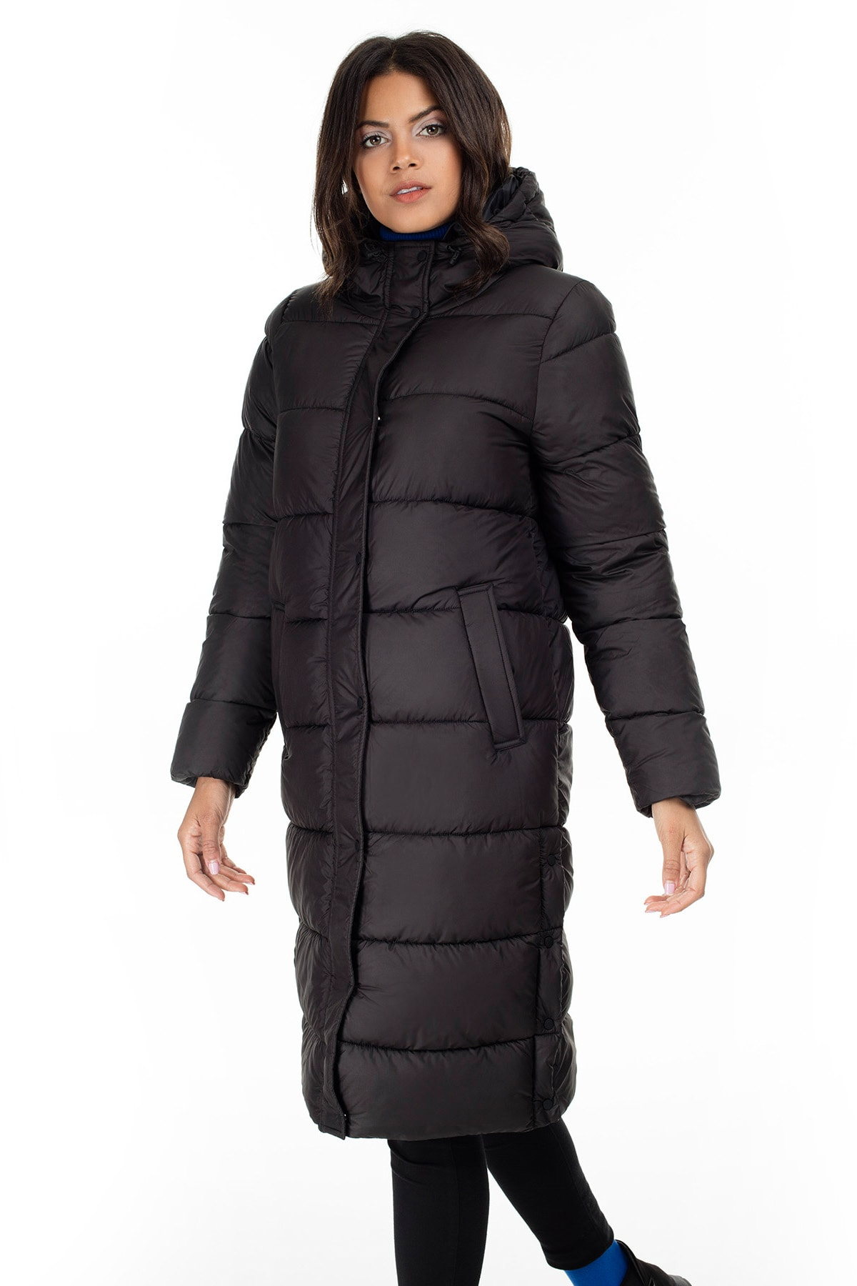 Only ONLCAMMIE LONG QUILTED COAT OTW Kadın Mont 1