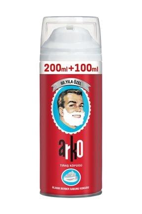 ARKO 60. Yıl Özel Klasik Berber Sabunu Kokulu Tıraş Köpüğü 300 ml