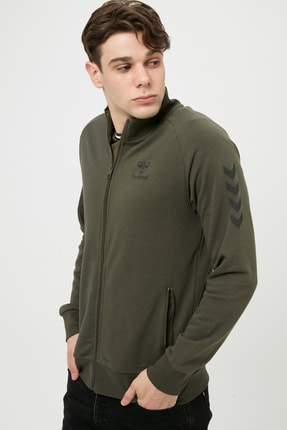 HUMMEL Erkek Sweatshirt - Hmlbrillo  Zip Jacke