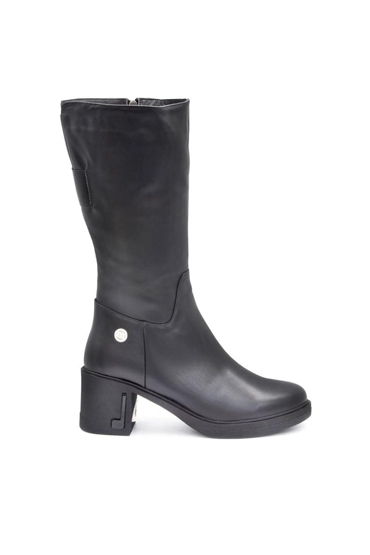 Mammamia Hakiki Deri Siyah Kadın Çizme D19KC20300000 2