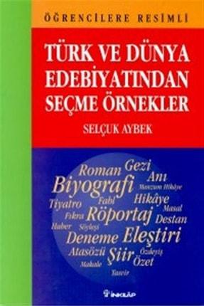 İnkılap Kitabevi Öğrencilere Resimli Türk ve Dünya Edebiyatından Seçme Örnekler