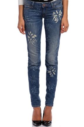 Guess Kadın Mavi Pantolon GU62W62043D1H4G-DENIM