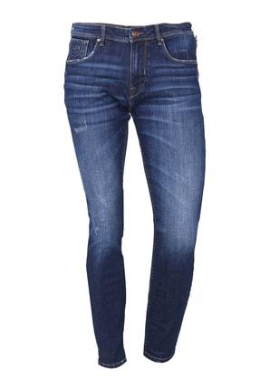 Lufian Slim Fit Chango Smart Jean Pantolon KOYU MAVİ - 111200003100310