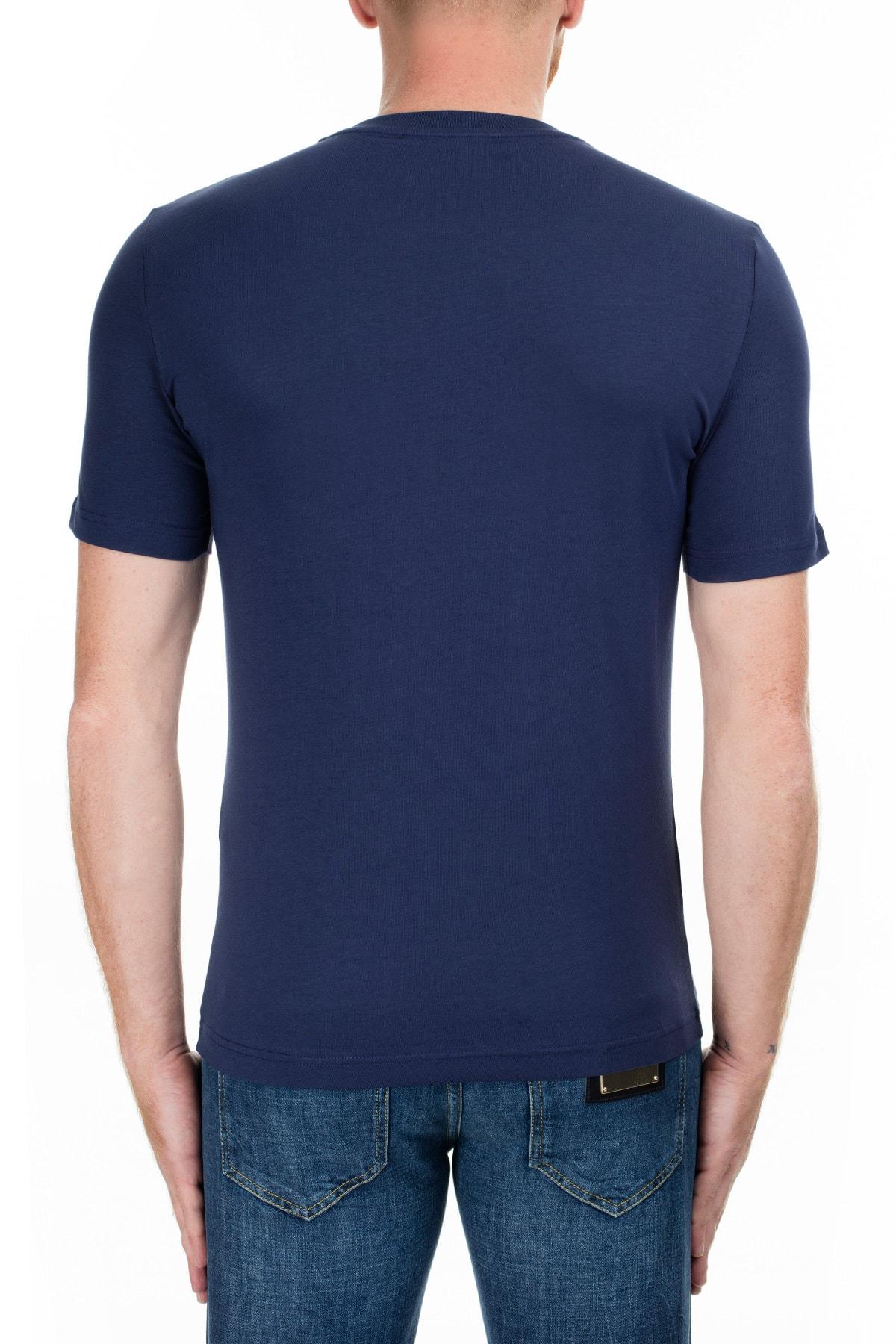 Love Moschino Erkek Lacivert T-Shirt S M47312Le1811 Y61 2