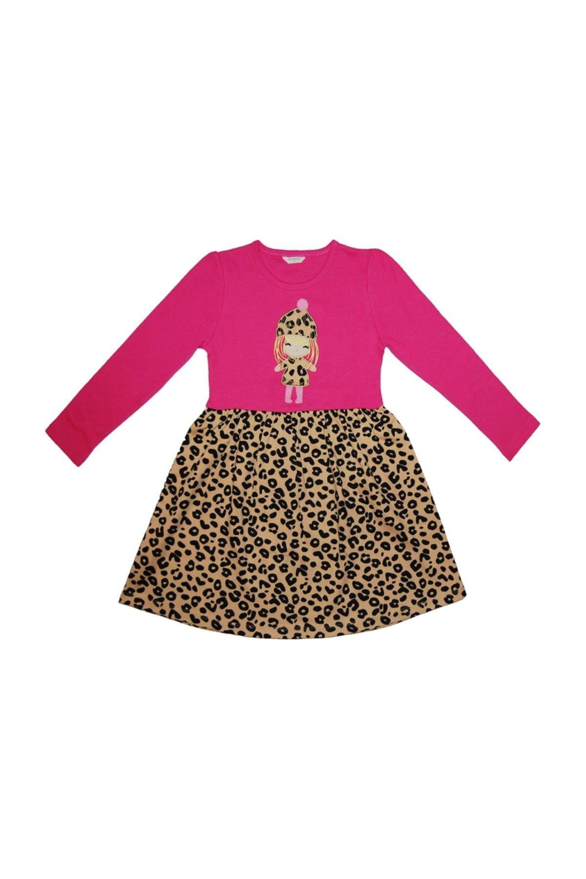 OrganicKid Fancy Kız Çocuk Elbise %100 Pamuklu Organik 1