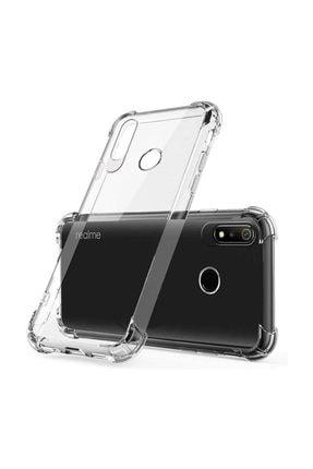 Ally Mobile Realme 3 Pro Anti-drop Darbe Emici Silikon Kılıf Şeffaf