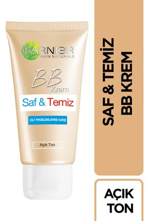 Garnier BB Krem - Saf & Temiz Açık Ton 50 ml
