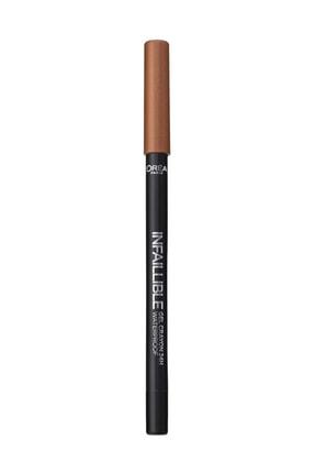 L'Oreal Paris Kahverengi Eyeliner - Infaillible Gel Crayon Eyeliner 05 Cooper 3600523351534