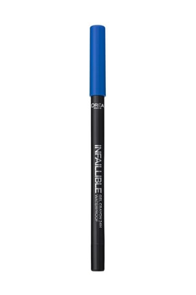 L'Oreal Paris Mavi Eyeliner - Infaillible Gel Crayon Eyeliner 10 Blue 3600523351589