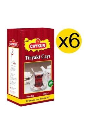Çaykur Tiryaki Çay 1 Kg X 6 Adet