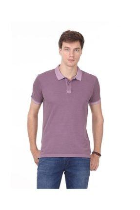 Ramsey Lila Düz Örme T - Shirt RP10113908