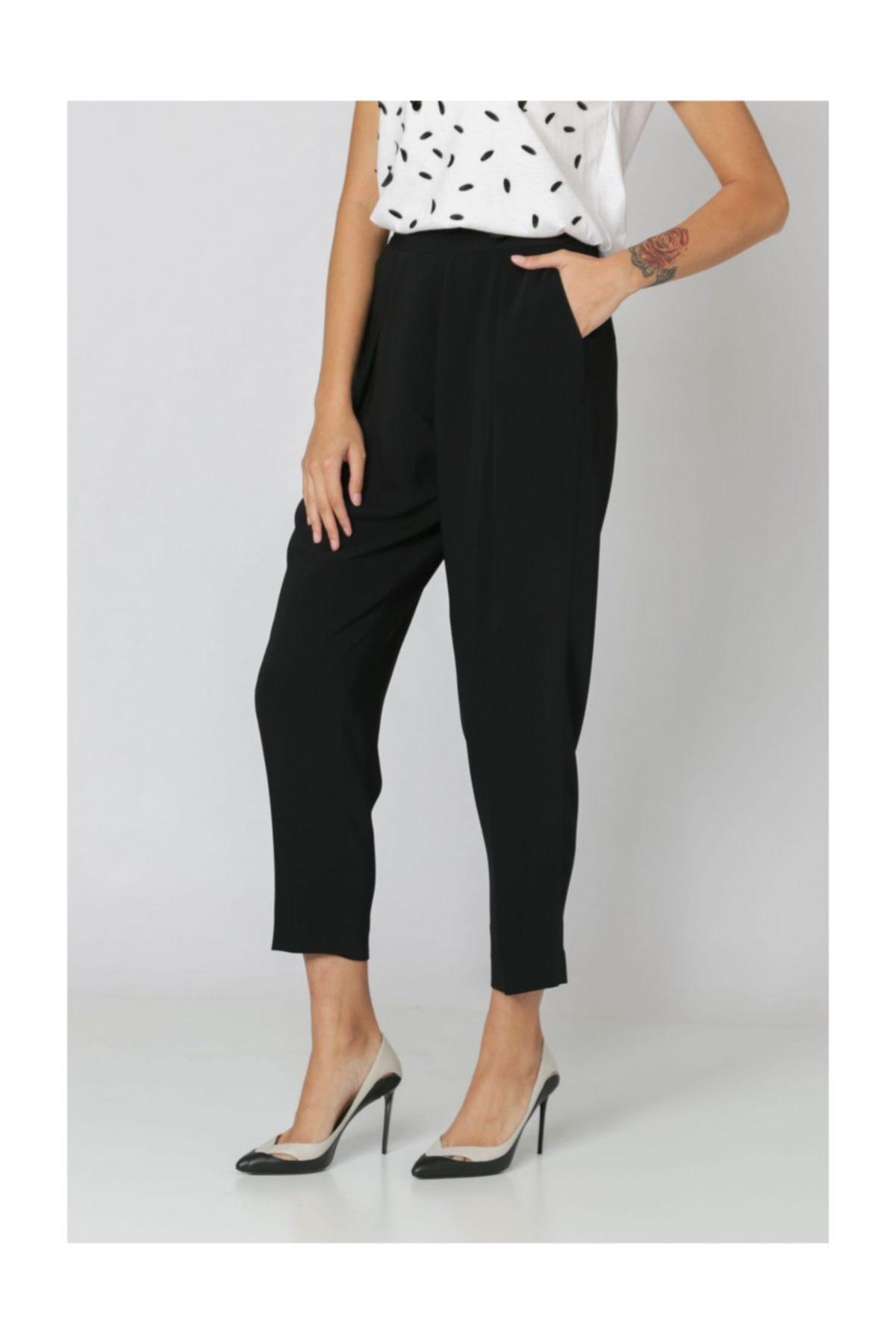 Armani Jeans Armanı Jeans Yüksek Bel , Dar Paça Pantolon 2