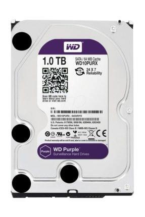 """WD Wd Purple 3,5"""" 1tb 64mb 7/24 Güvenlik (wd10purx) Hdd"""