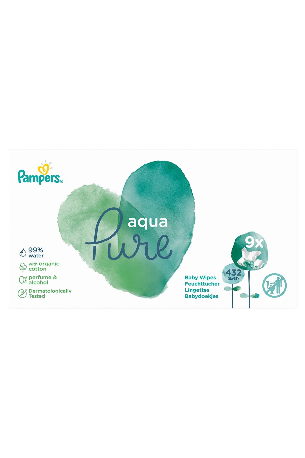 Prima Islak Havluaqua Pure 9'lu Fırsat Paketi 432 Yaprak 2