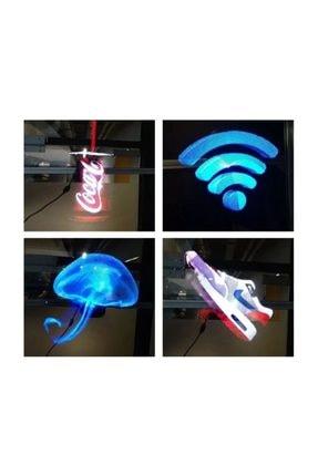 3D Matalchok 3d Hologram Reklam Ekranı Led Fan, Holografik 3d