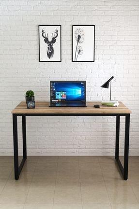Ceramical Siyah Sakramento Çalışma Masası Bilgisayar Masası Ofis Masası  60x120 cm