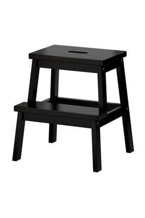 IKEA Bekvam Basamaklı Mutfak Tabure Merdiven Siyah