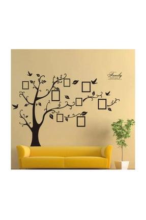KT Decor Soy Ağacı Şekilli Fotoğraf Resim Çerçeveli Dev Ev Salon Dekorasyonu