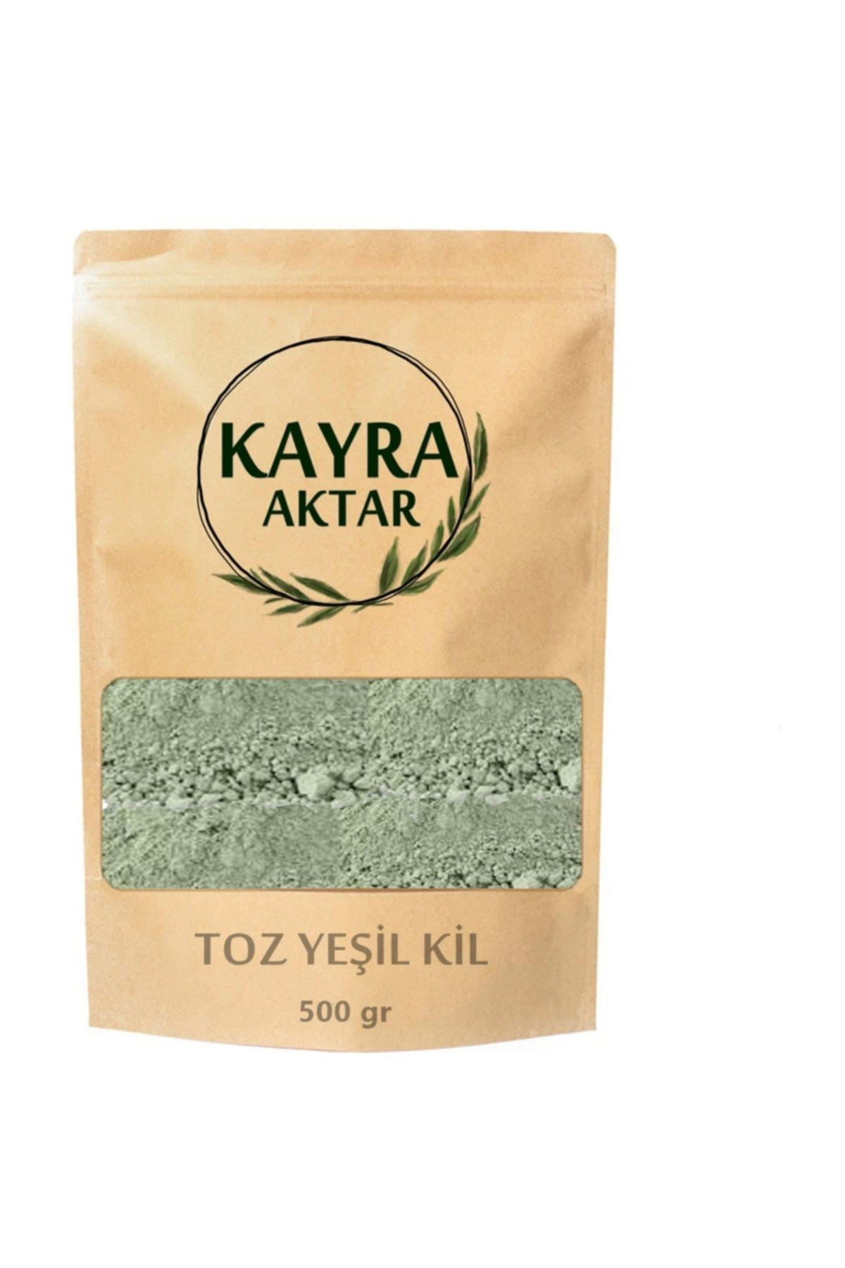 Kayra AKTAR Toz Yeşil Kil 500 gr 1