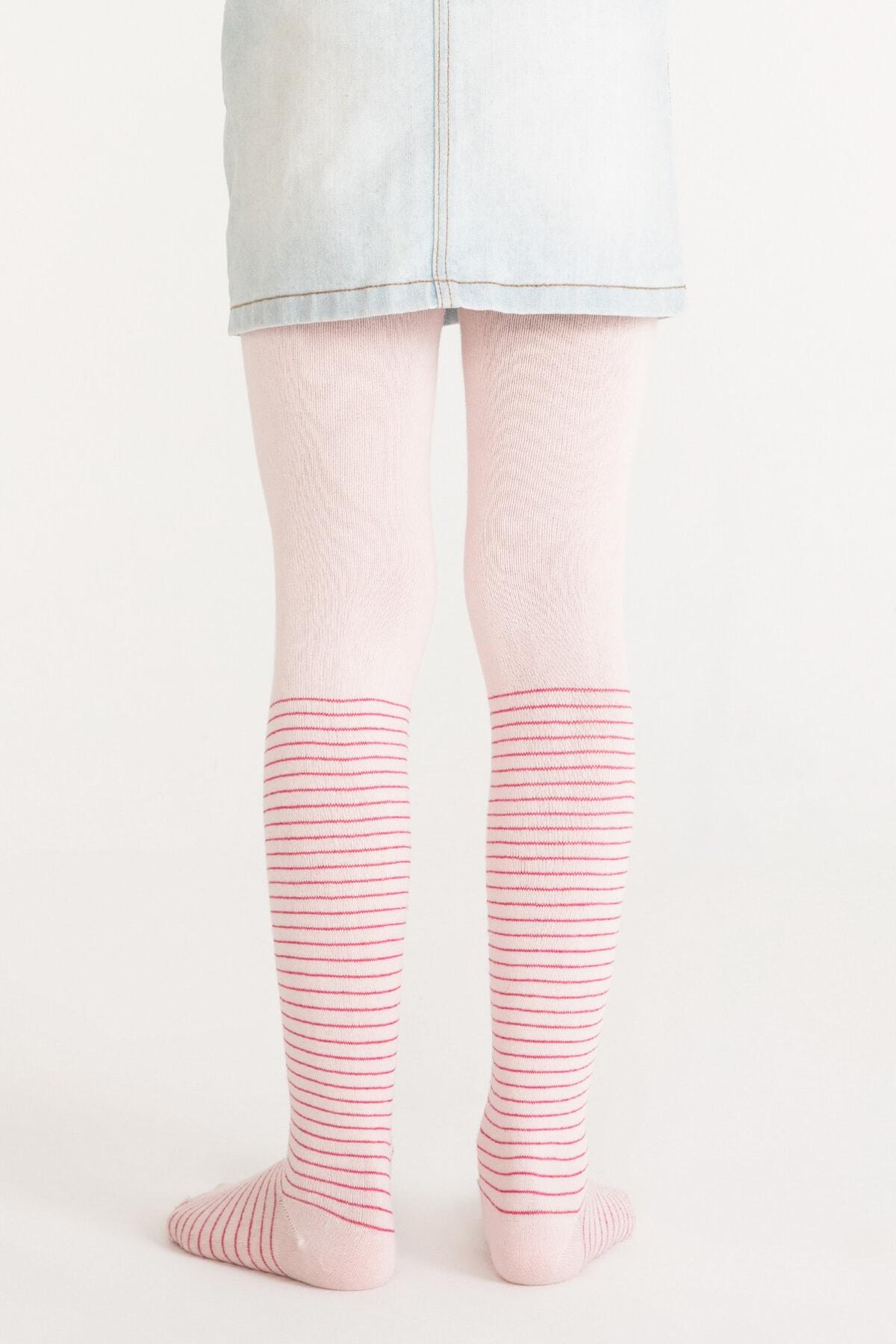 Penti Pembe Pretty Crystal Külotlu Çorap 2