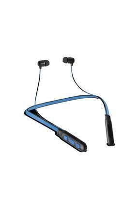 Piranha Kablosuz Mavi İos Android Uyumlu Spor Bluetooth Kulaklık 2281