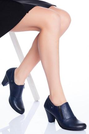 Zeus Sandals Hakiki Deri Kadın Ayakkabısı Topukluayakkabi