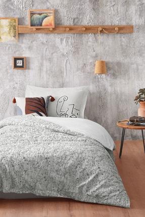 Yataş Bedding Bedding Abstre Ranforce Tek Kişilik XL Nevresim Takımı