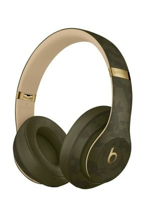 Beats Studio3 Camo Collection Forest Green Anc Bluetooth Kulak Üstü Kulaklık